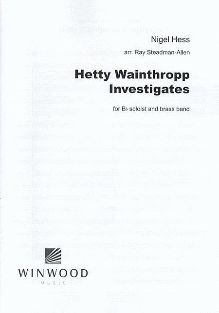 Sheet Music Hetty Wainthropp Investigates