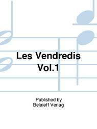 'Les Vendredis'' Vol. 1 sheet music