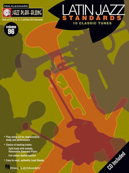 Sheet music: Latin Jazz Standards (Bb Instruments)