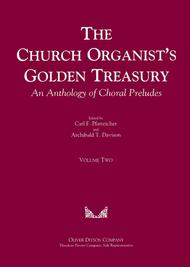 The Church Organist's Golden Treasury An Anthology of Choral Preludes Volume Two sheet music