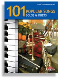 Various  Sheet Music 101 Popular Songs for Brass & Reed Instruments * Piano Accompaniment Song Lyrics Guitar Tabs Piano Music Notes Songbook