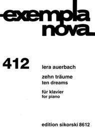Lera Auerbach  Sheet Music 10 Dreams Song Lyrics Guitar Tabs Piano Music Notes Songbook
