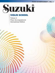 Suzuki Violin School, Volume 4: Violin Sheet Music: Piano Acc.