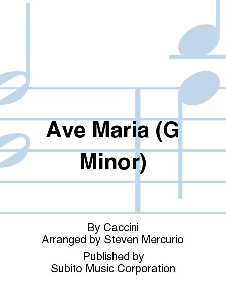 ave maria caccini free sheet music pdf