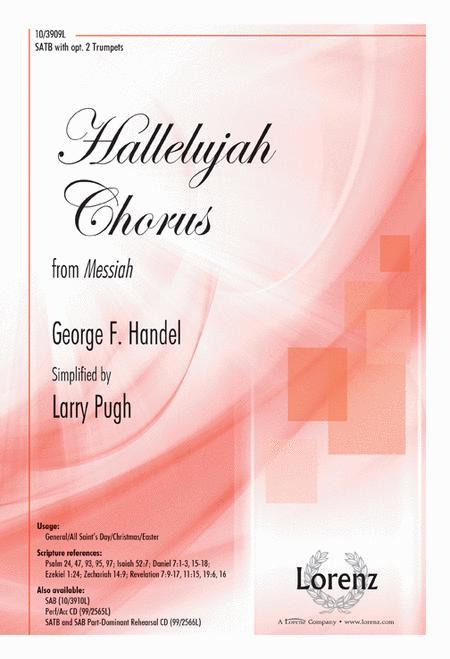 Sheet music: Hallelujah Chorus (SATB, Piano)