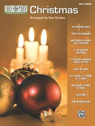 Dan Coates  Sheet Music 10 for 10 Sheet Music Christmas Song Lyrics Guitar Tabs Piano Music Notes Songbook