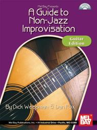 A Guide to Non-Jazz Improvisation: Guitar Edition sheet music