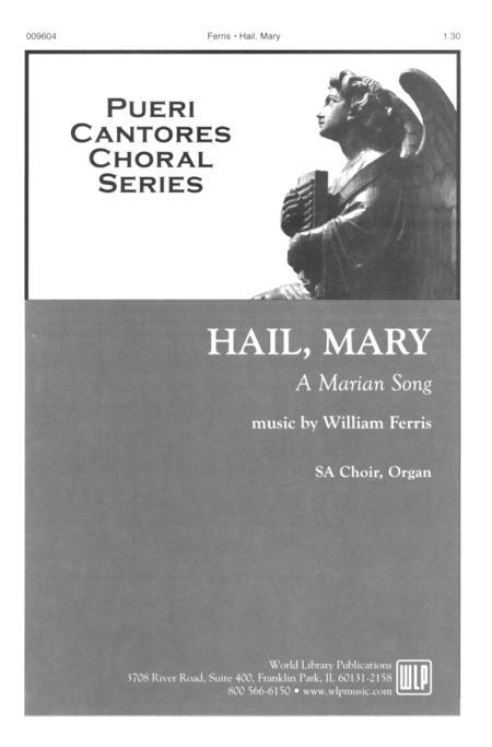 Sheet music: Hail, Mary (2-part, Organ)