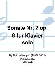 Sonate Nr. 2 op. 8 fur Klavier solo sheet music
