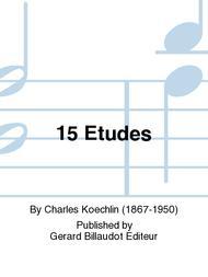 Charles Koechlin  Sheet Music 15 Etudes Song Lyrics Guitar Tabs Piano Music Notes Songbook