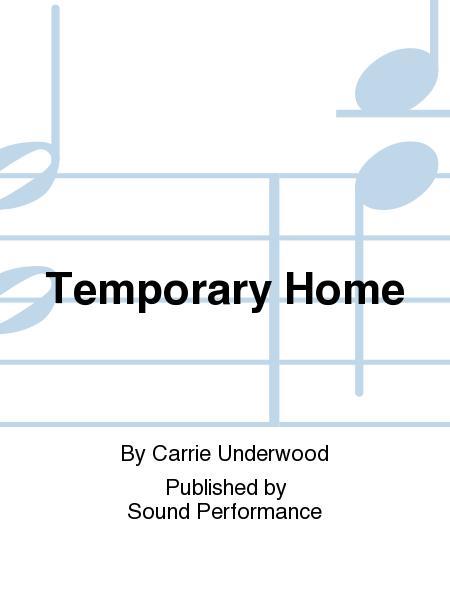 Sheet Music Temporary Home