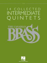 The Canadian Brass  Sheet Music 14 Collected Intermediate Quintets Song Lyrics Guitar Tabs Piano Music Notes Songbook