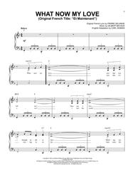 Gilbert Becaud - Partitions musicales à imprimer - Mondial de la