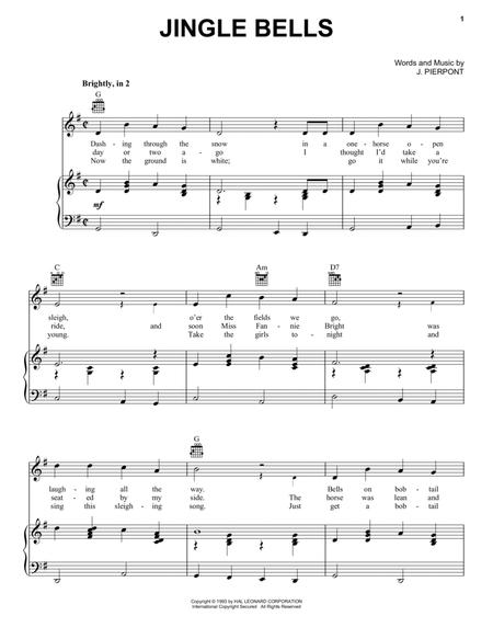 Download Digital Sheet Music of jin jin jingle for Piano, Vocal and ...