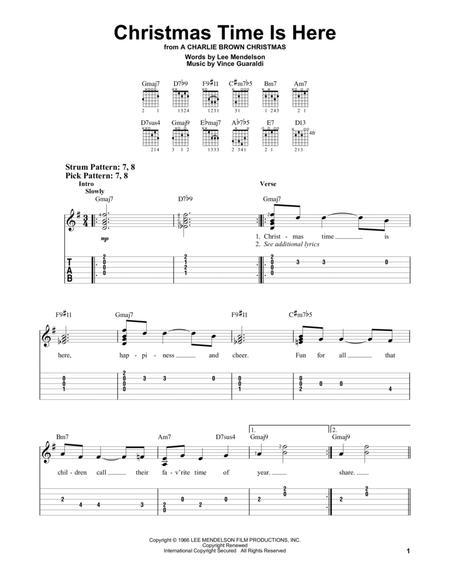 Lee Mendelson and Vince Guaraldi sheet music to download and print ...