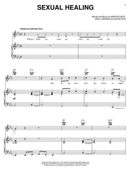 Sexual healing chords and lyrics