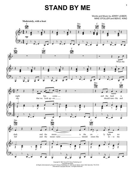 Download Digital Sheet Music of ben e. king for Piano, Vocal and Guitar