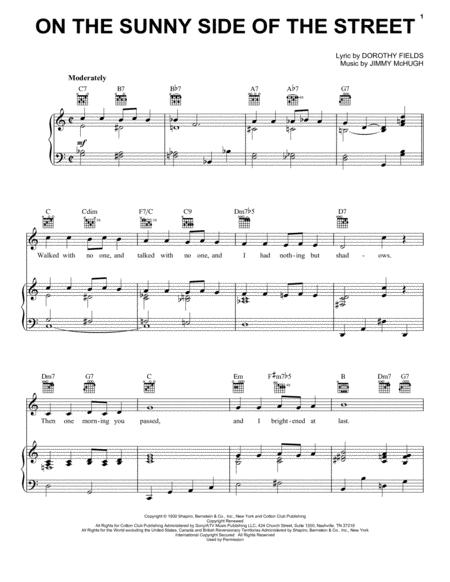 Frank Sinatra and Louis Armstrong sheet music to download and print ...