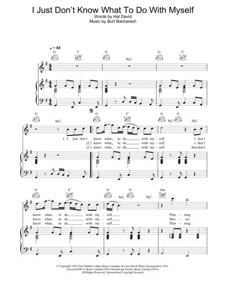 Download Digital Sheet Music of Dusty-Springfield for Piano, Vocal ...