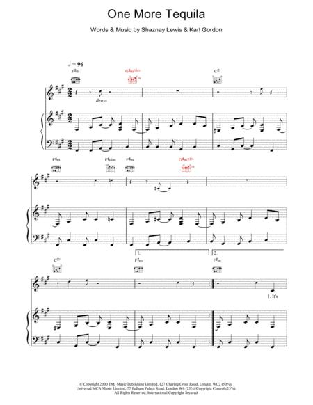 Download Digital Sheet Music of tesla for Piano, Vocal and Guitar