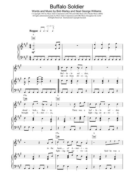 Download Digital Sheet Music Of Soldier For Piano Vocal And