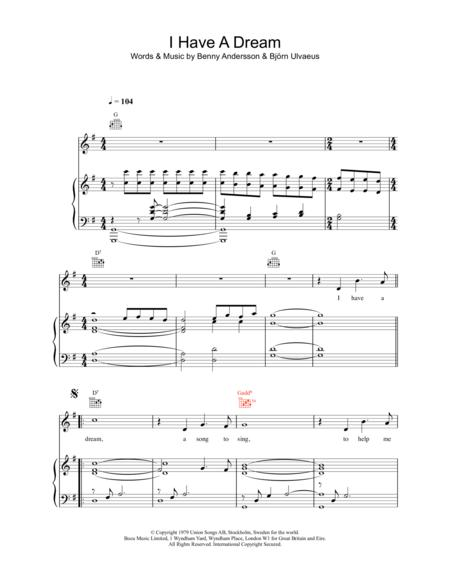 life is a dream sheet music to download and print - World center of ...