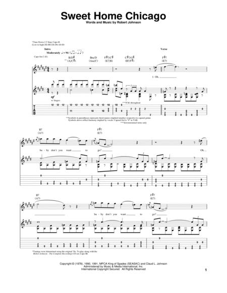 Robert Johnson And The Blues Brothers Sheet Music To Download And