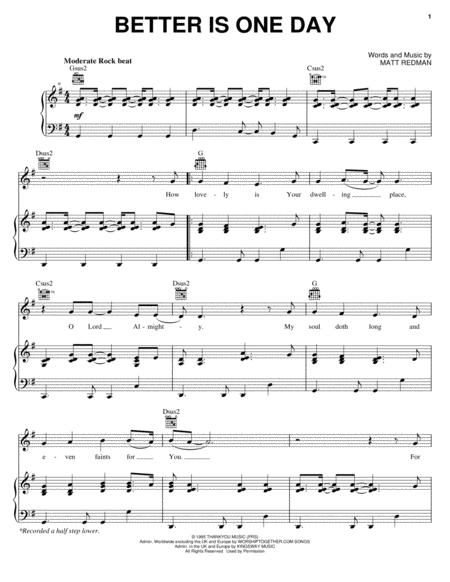 Passion and Matt Redman sheet music to download and print - World ...