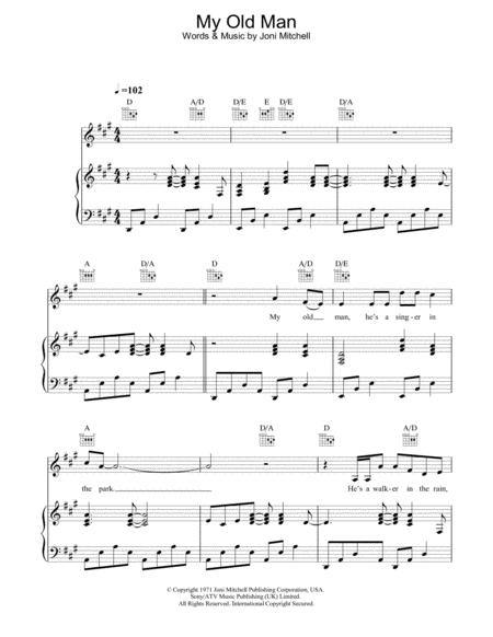 Download Digital Sheet Music of guitar for Piano, Voice