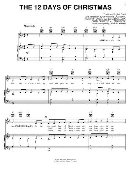 Download Digital Sheet Music Of Christmas Carol For Piano Vocal And