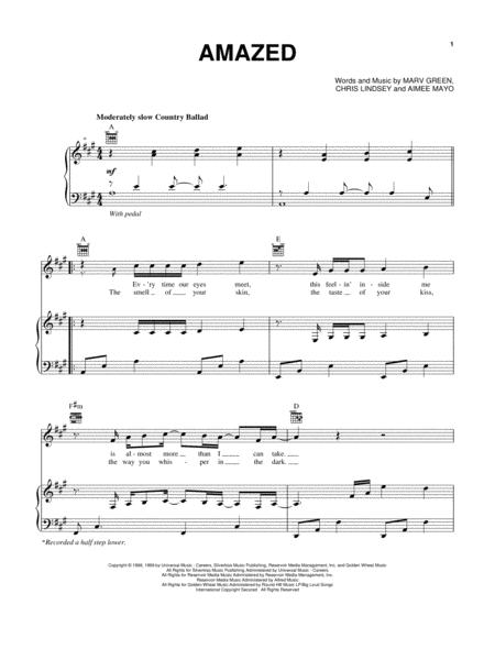 Download Digital Sheet Music of lonestar for Piano, Vocal and Guitar