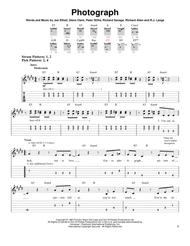 Download Digital Sheet Music of Def Leppard for Guitar notes