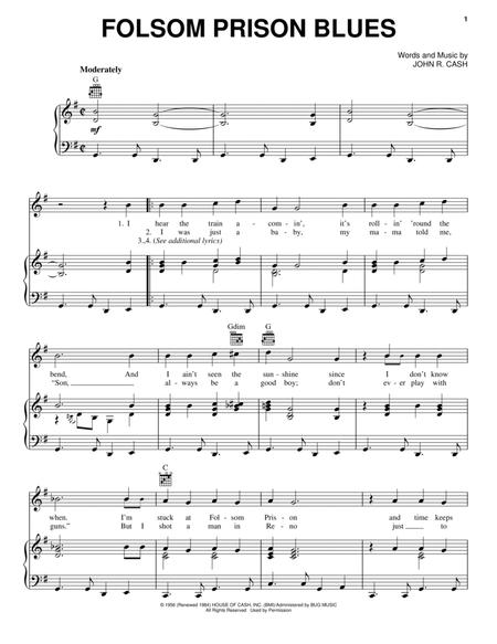 Johnny Cash and Walk The Line (Movie) sheet music to download and ...