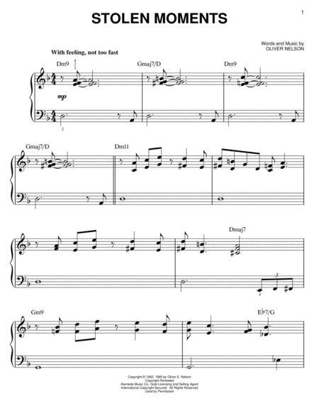 Oliver Nelson - Partitions musicales à imprimer - Mondial de