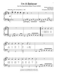 I'm A Believer sheet music