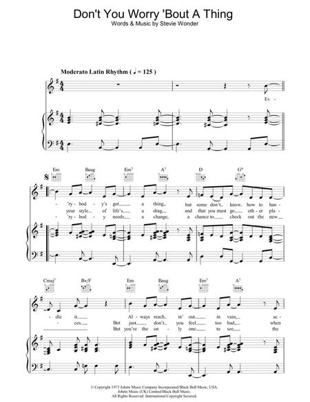 Download Digital Sheet Music Of Stevie Wonder For Piano Vocal And