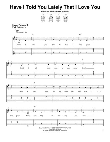 For Easy Guitar With TAB Country Standards Standard Notation Tablature 3 Pages Published By Hal Leonard