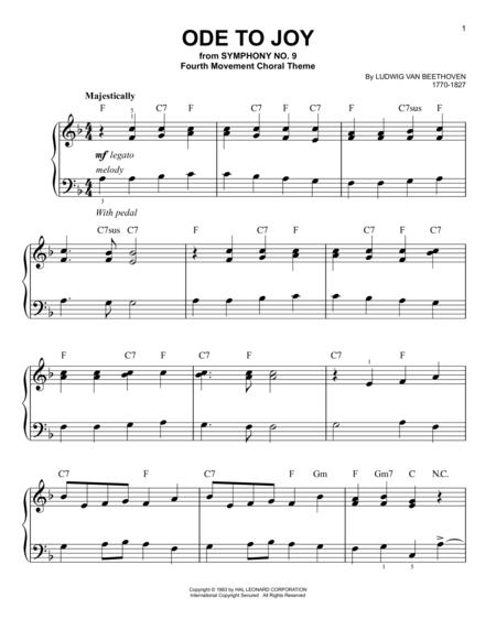 Download Digital Sheet Music of beethoven beethoven piano