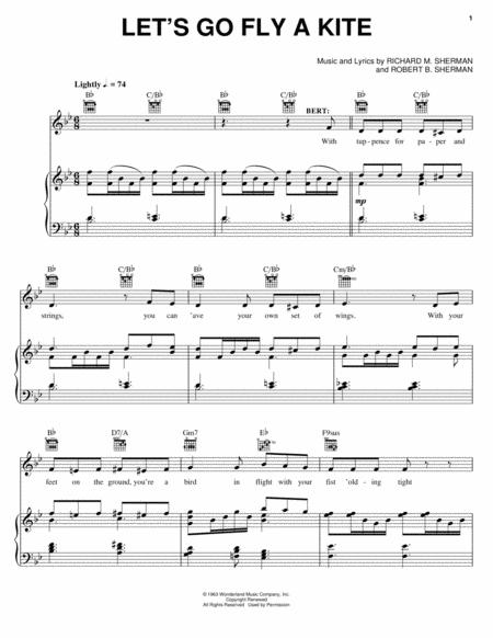 By Sherman Brothers And Mary Poppins (Musical). For Piano, Voice, And  Guitar (chords Only). Broadway; Children; Disney; Musical/Show.  Piano/Vocal/Guitar.