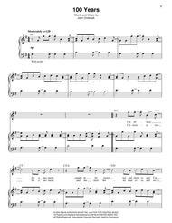 John Ondrasik  Sheet Music 100 Years Song Lyrics Guitar Tabs Piano Music Notes Songbook