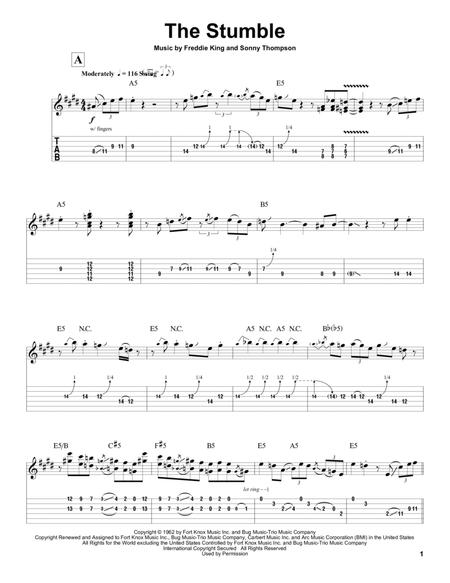 Freddie King sheet music to download and print - World center of