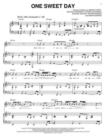 Download Digital Sheet Music Of Boyz Ii Men For Piano Vocal And Guitar