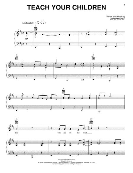 Crosby, Stills and Nash sheet music to download and print - World ...