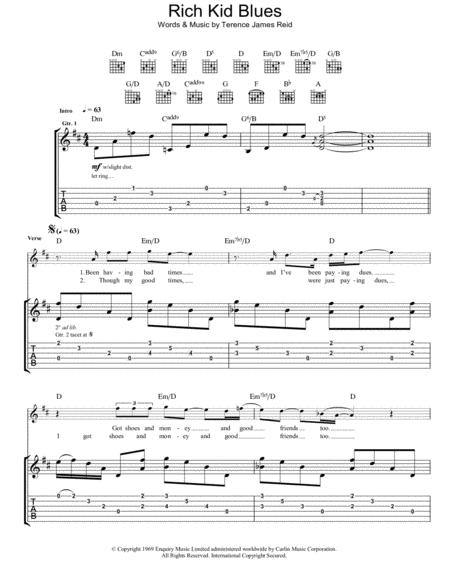 Guitar national anthem guitar tabs : Download Digital Sheet Music of kid rock for Guitar notes and ...