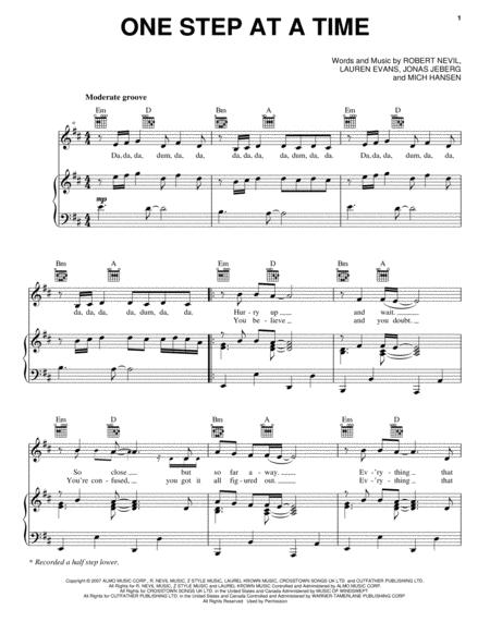 Download Digital Sheet Music Of Jordin Sparks For Piano Vocal And