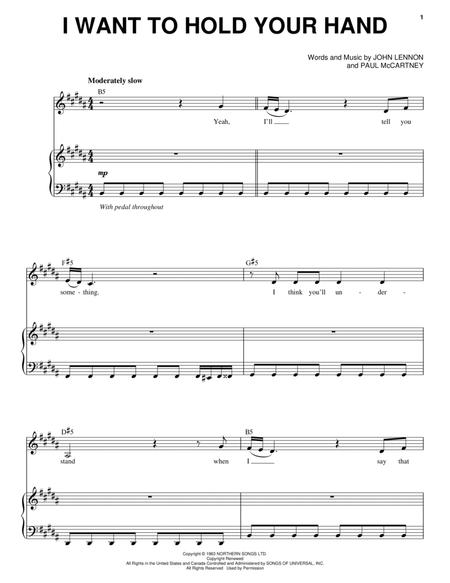 The Beatles and Across The Universe (Movie) sheet music to download ...
