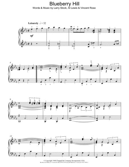 Fats Domino Sheet Music To Download And Print World Center Of
