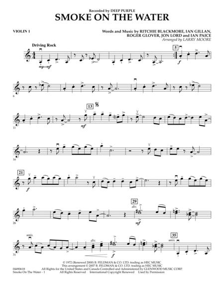 Guitar guitar tabs smoke on the water : Deep Purple sheet music to download and print - World center of ...