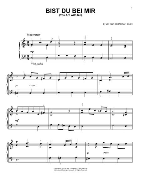 air bach piano sheet music pdf
