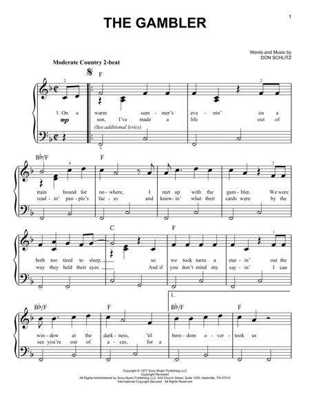 Kenny Rogers - Easy Piano - sheet music books scores (buy online).